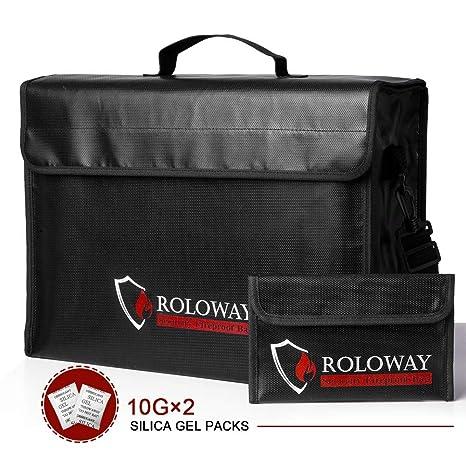 Amazon.com: Bolsas resistentes al fuego, tamaño XL con bolsa ...
