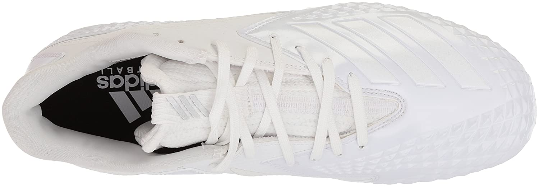 adidas Hombres Freak X Low & Mid Tops Schnuersenkel Fussball Sneaker White/White/White
