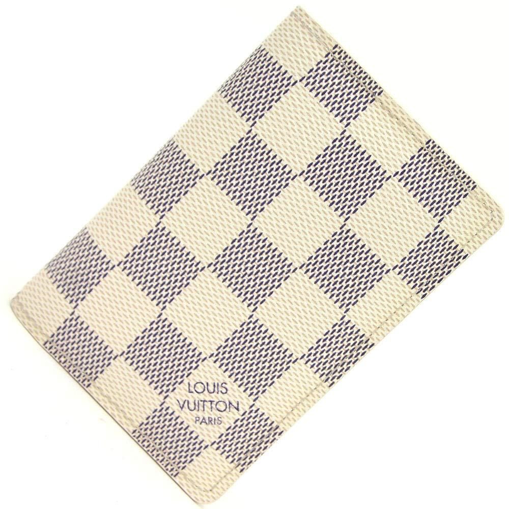 LOUIS VUITTON(ルイヴィトン) カードケース ダミエアズール オーガナイザー ドゥ ポッシュ N63144 中古 白 名刺ケース 名刺入れ ビジネスカードホルダー LOUIS VUITTON [並行輸入品]   B07RF4XY87