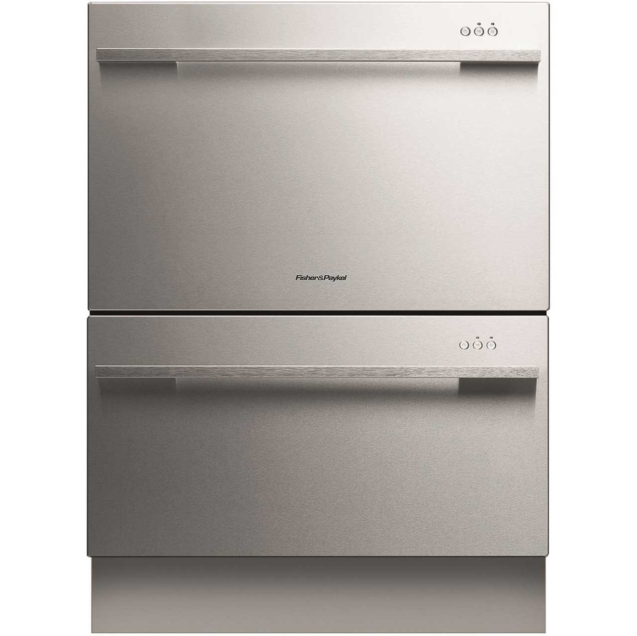 fisher and paykel dishdrawer. Fisher \u0026 Paykel DD60DDFHX7 89474 Integrated Double Dishdrawer With EZKleen Stainless Steel Door: Amazon.co.uk: Large Appliances And