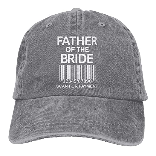 Amazon.com  Unisex Father of The Bride Scan for Payment Premium Low ... 3f106f27772c