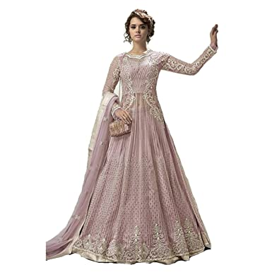 b4eed2c551 Amazon.com: stylishfashion Women/Designer Ethnic Indian Wear Anarkali Suit Party  Wear: Clothing