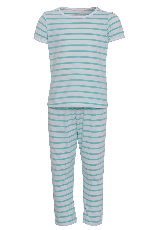 NEW Girls Kids Marks /& Spencer 100/% Cotton /'Dreaming/' Pyjama Set PJs Nightwear