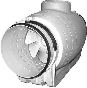 Soler & Palau TD-100 X S ventilador de escape In-Line: Amazon.es ...