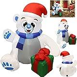 Joiedomi 4 ft Christmas Self Inflatable Polar