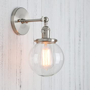 Amazon.com: Permo Vintage Industrial Wall Sconce Lighting Fixture ...