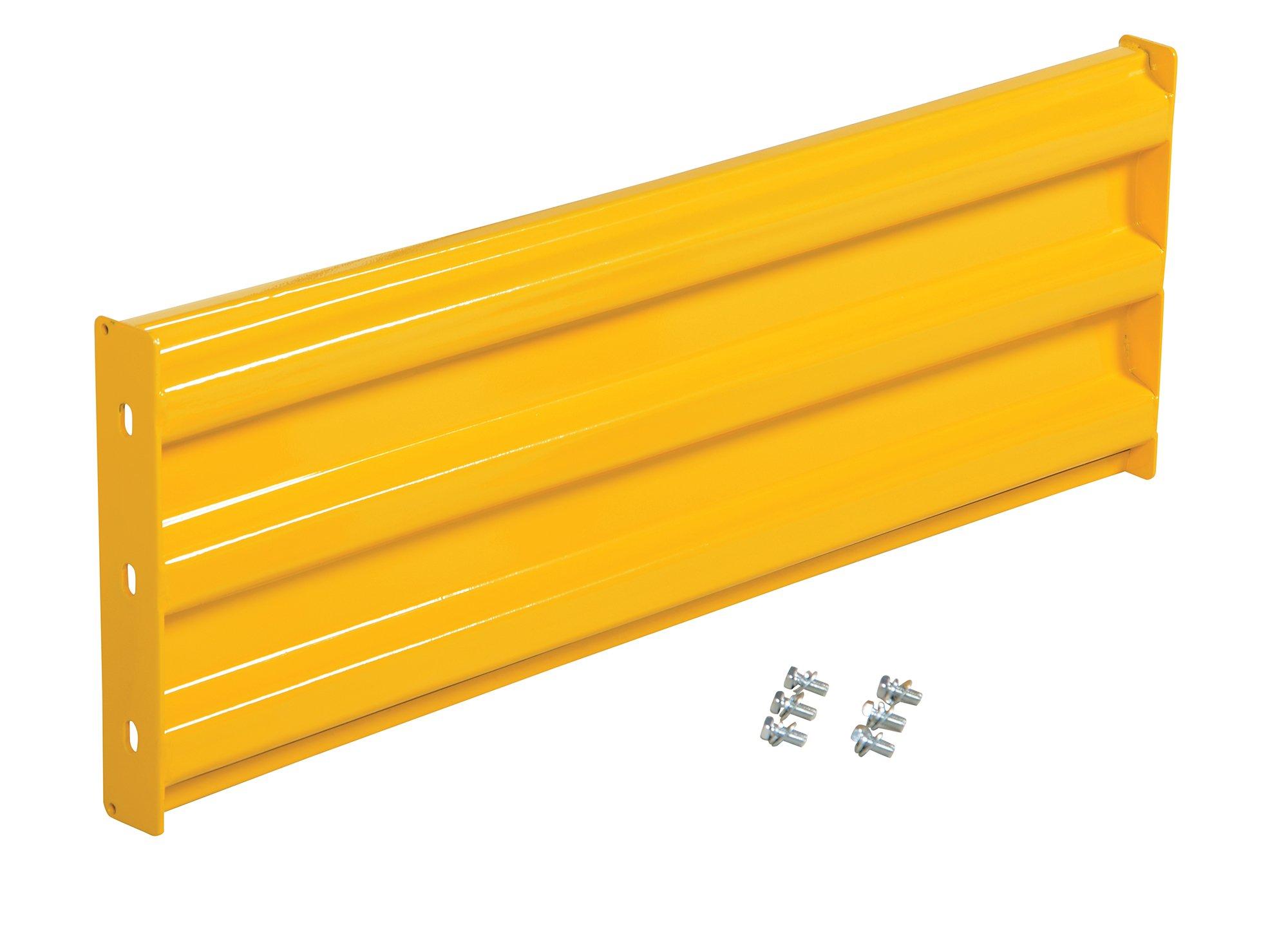 Vestil YGR-B-4 Bolt-On Style Guard Rail44; Yellow - 4 ft.