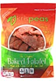 High Protein Snack by krispeas - Low Carb, Vegan & Gluten-Free Spicy Split Pea Baked Falafel Chips, 7 oz