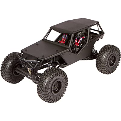 Luxury RC Black Aluminum Axial Racing Wraith Body Panel Kit (with Full Roof): Toys & Games