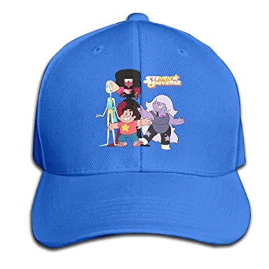 Amazon.com  EVALY Novelty Adult Steven Universe Poster Baseball Cap ... 640038241f0