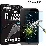 Protezione dello schermo LG G5, Protezione dello schermo in vetro temperato con protezione a cristalli liquidi a 9H, trasparenza in cristallo, antigraffio, nessuna bolla e impronte digitali Facile da pulire Film a schermo LG G5 screen protector