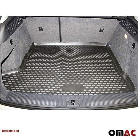 OMAC GmbH Kofferraumwanne Antirutschmatte Gummi Allwetter schwarz fahrzeugspezifisch f/ür EcoSport ab 2017