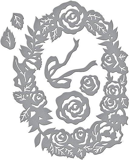 5 DIES S4-572 New SPELLBINDERS SHAPEABILITIES Dies Wreath