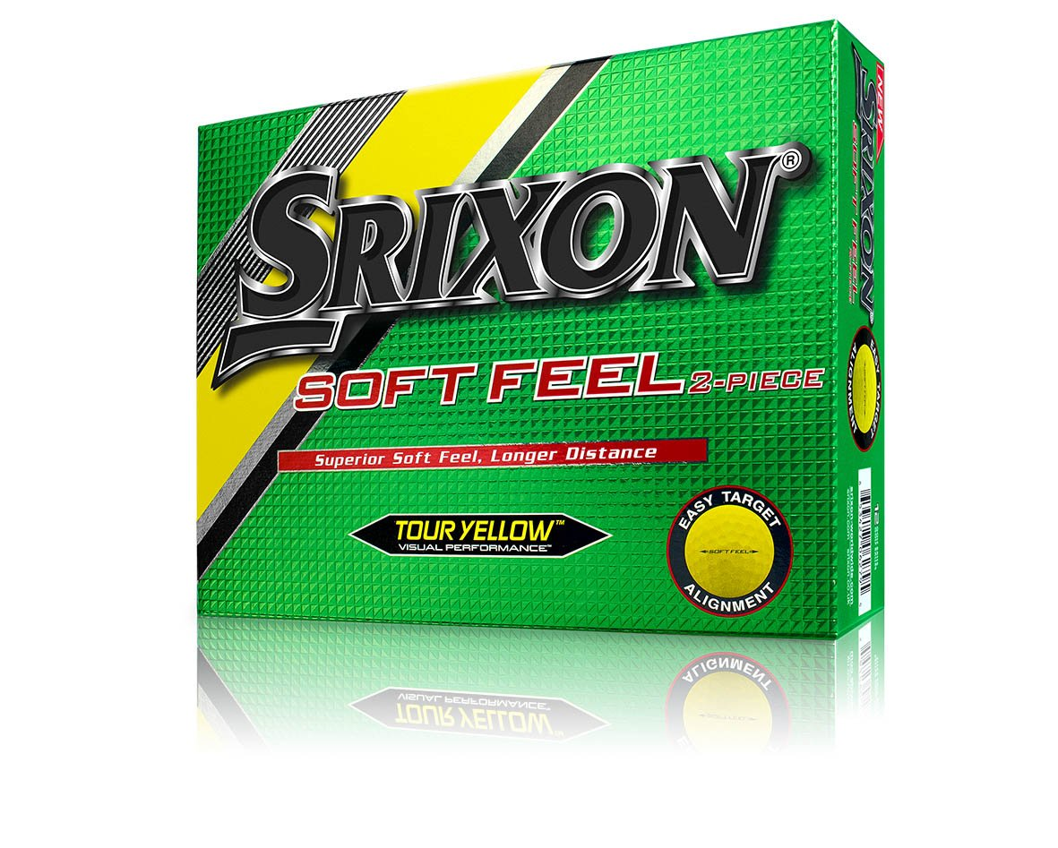 Srixon Soft Feel Men s Golf Balls, Prior Generation One Dozen