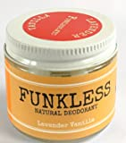 Funkless Natural Deodorant - Lavender & Vanilla, 2.1 Oz.