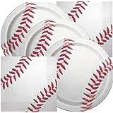 Baseball Themed Birthday Party Napkins and Plates