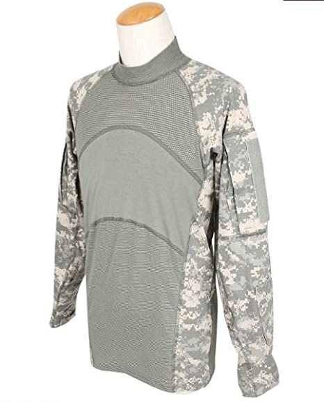 aac455e314e6 Amazon.com   Genuine Us Army Massif Nomex Flame Resistant Acu Combat Shirt  - Small   Everything Else