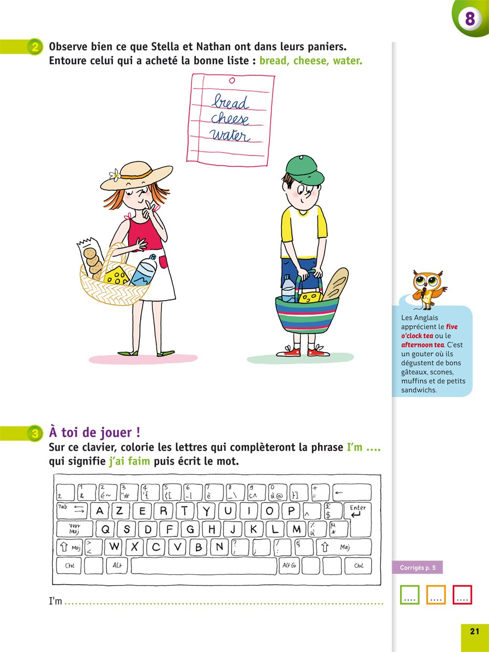 Amazon Fr Anglais Cp Corinne Touati Juliette Baily Livres
