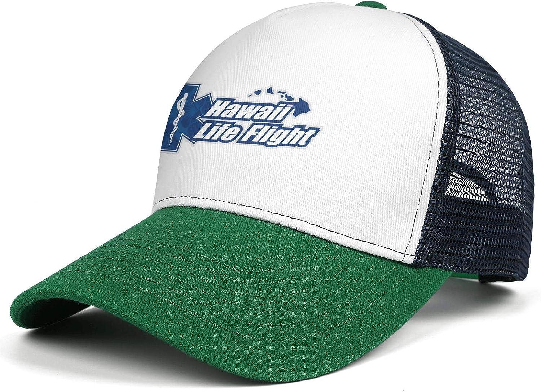 HI Mesh Hats Vintage Snapback Structured Baseball Cap
