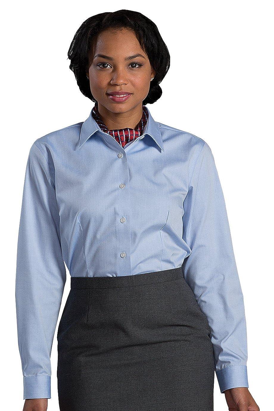 1cf76e773 Edwards Womens No-Iron Stay Collar Dress Shirt at Amazon Women's Clothing  store: