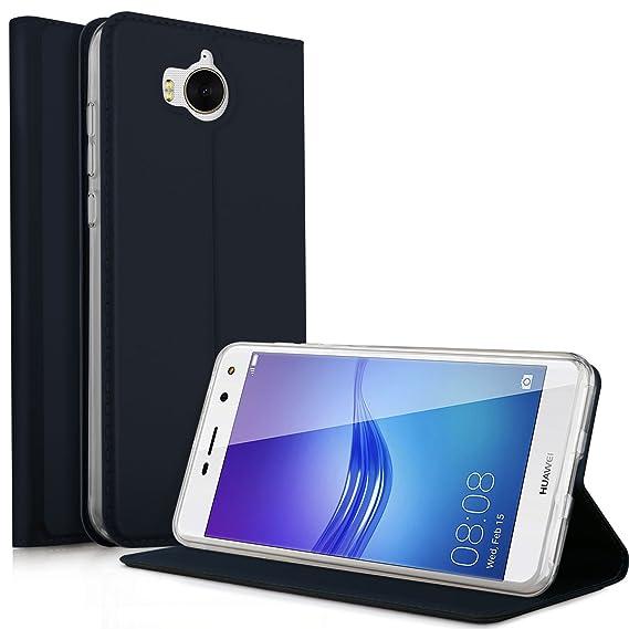 Amazon Com Huawei Y6 Pro 2017 Case Kugi Ultra Thin Dd Style Pu