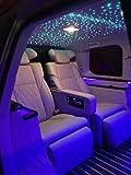 Car Use 16W RGBW LED Fiber Optic Light Star Ceiling