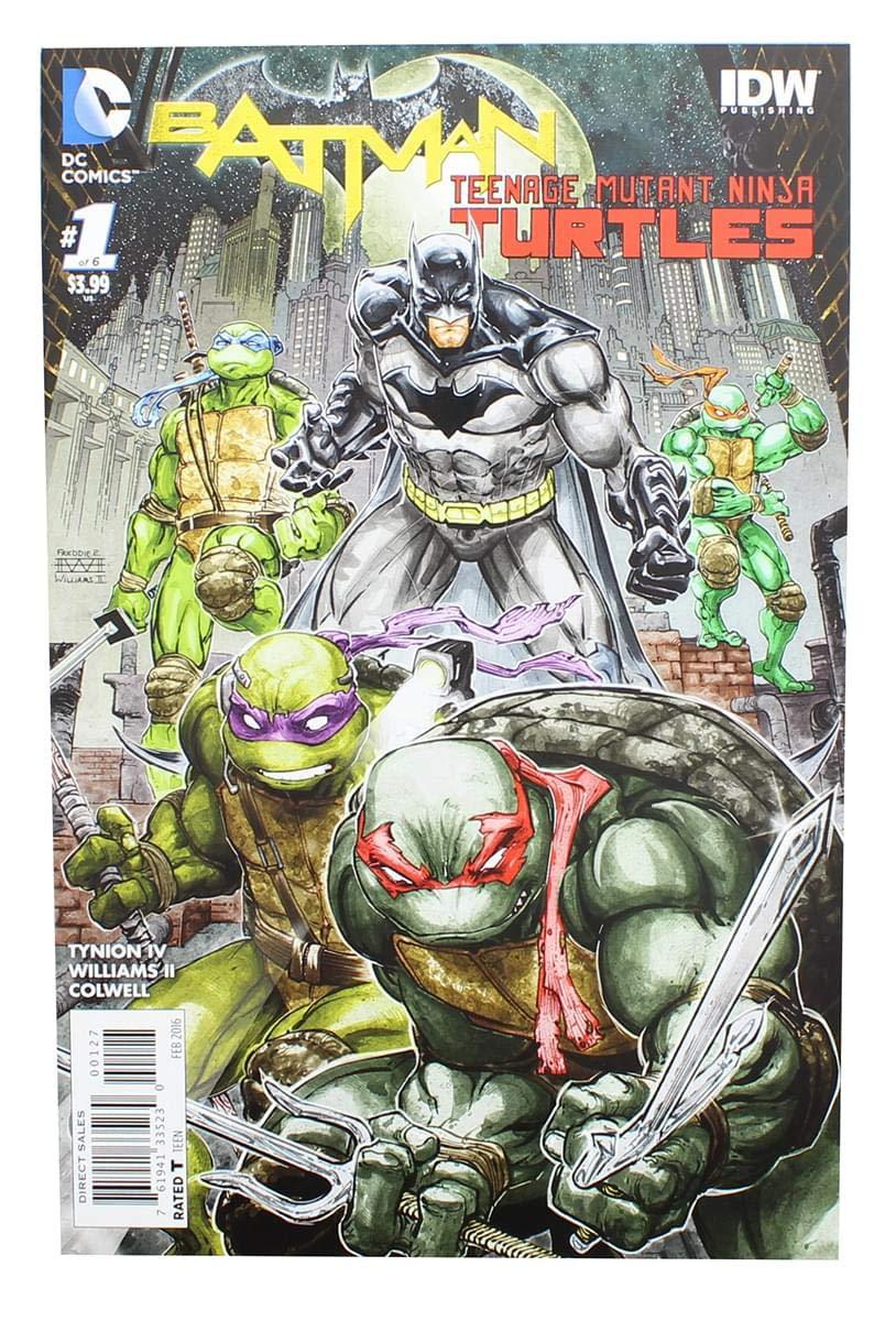 Batman Teenage Mutant Ninja Turtles # 1 (1:50 Eastman ...