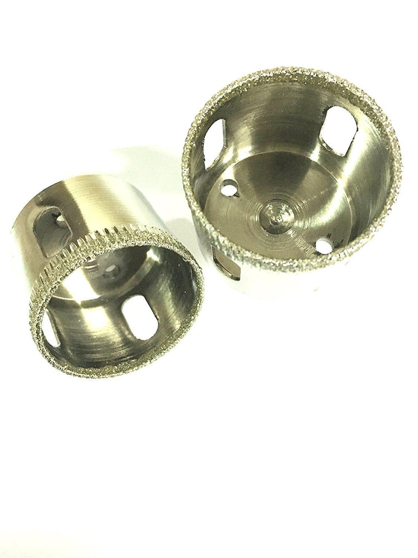 argent verre Outil de foret avec diamant Vzer pour c/éramique porcelaine et marbre