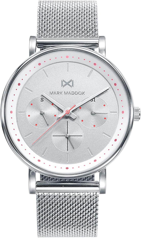 Reloj Mark Maddox Mujer MC0101-99 Notting Malla Milanesa