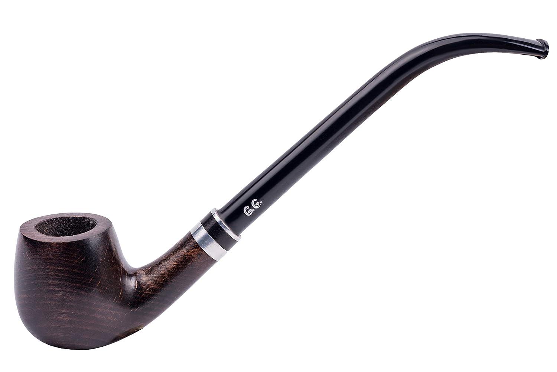 "6.5"" Churchwarden style Tobacco Smoking pipe ""HOBBIT"" Hand Made"