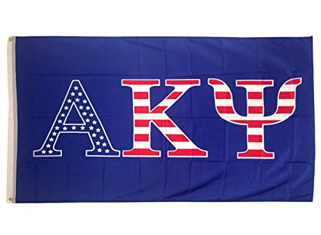 Alpha Kappa Psi USA Letter Fraternity Flag Greek Letter Use As A Banner Sign Decor AKPsi