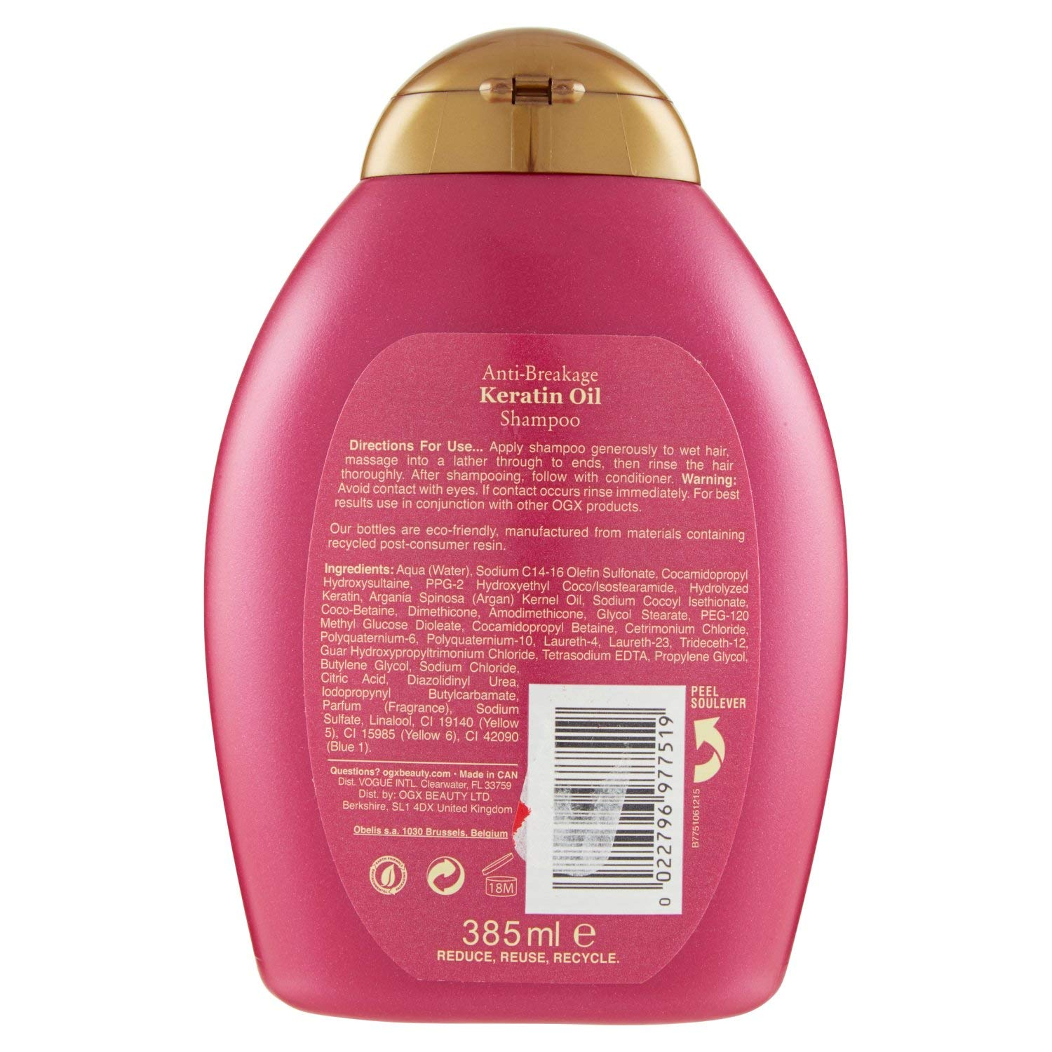 OGX Anti Breakage Keratin Oil Shampoo