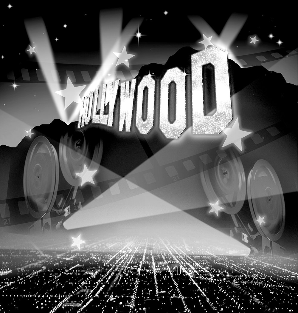 写真バックドロップ – Hollywood Classic Era – 10 x 10 ft。 – 高品質シームレスなファブリック   B00OIBGR4K
