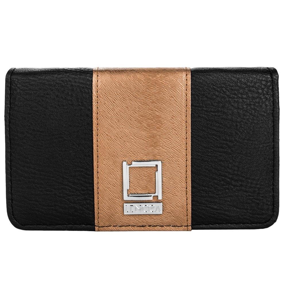 Wallet Clutch Black / Copper Case for BLU Phones by BestPriceCenter