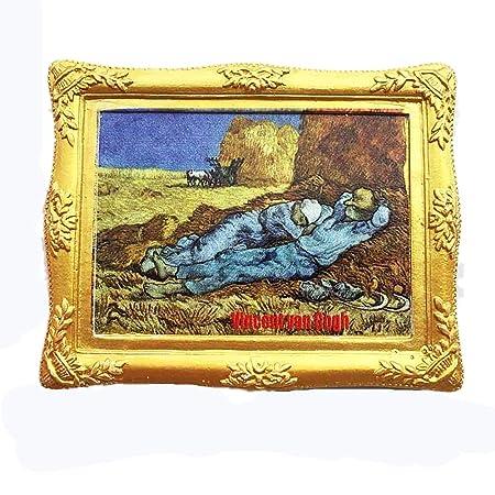 MUYU Magnet La Serie de Pinturas Famosas 3D de Vincent Van Gogh ...