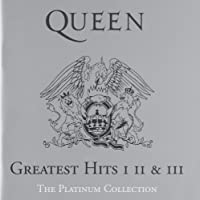 Queen: Greatest Hits I, II & III - The Platinum Collection (3CD)