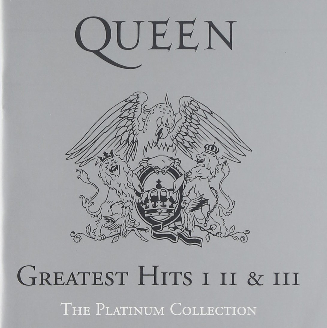 CD : Queen - Platinum Collection: Greatest Hits 1-3 (Boxed Set, 3 Disc)