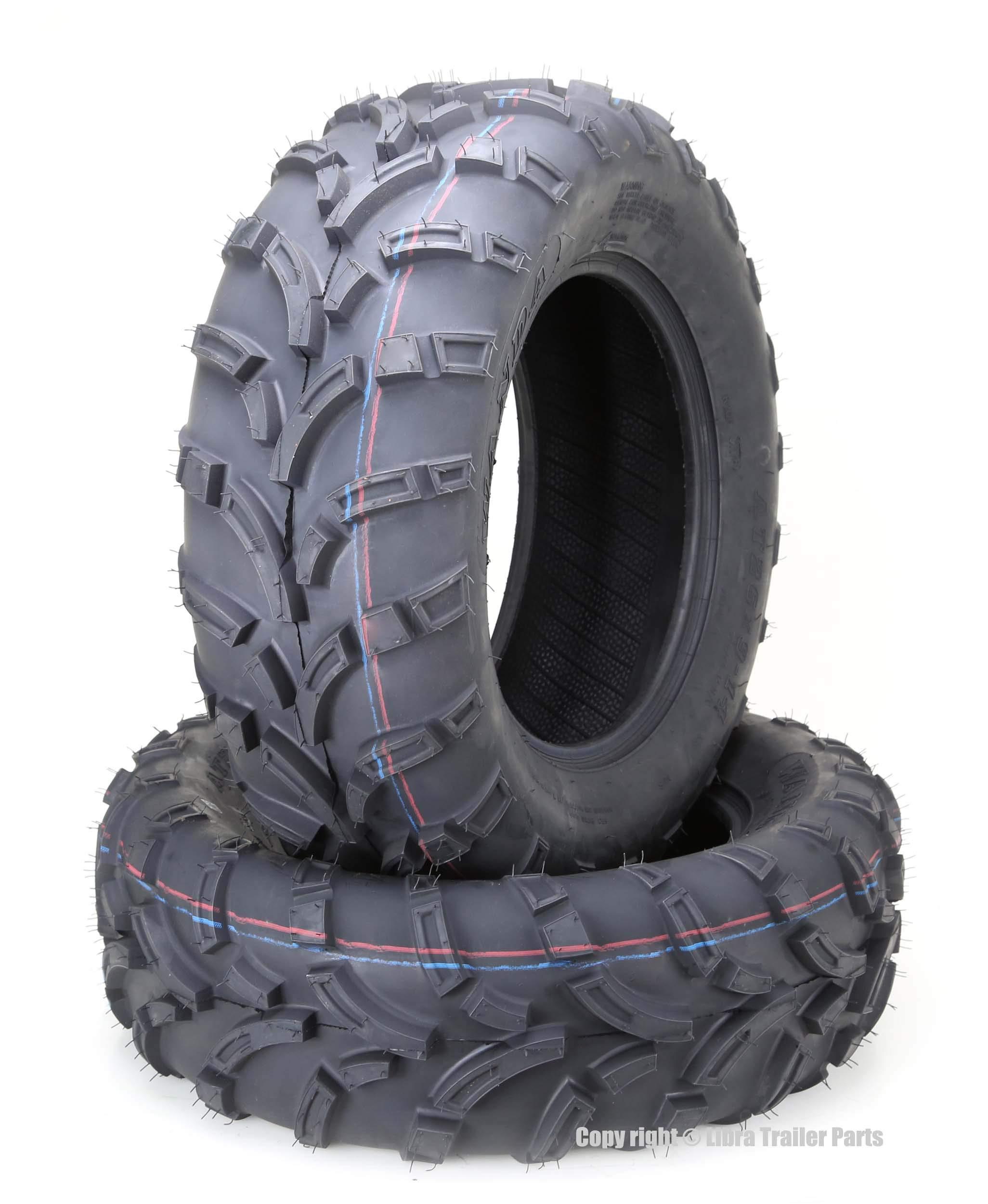 Set of 2 WANDA ATV UTV Tires 26x9-14 26x9x14 6PR P373 Mud … by WANDA (Image #1)