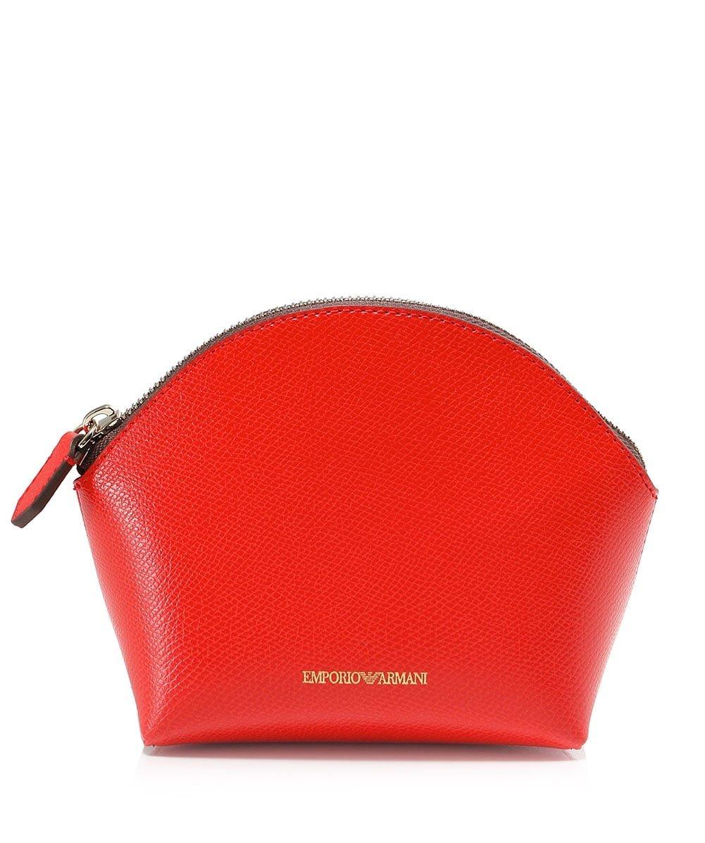 Emporio Armani Women's Beauty Bag Trio Coral One Size