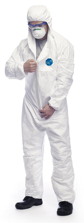 2x XXL JETABLE TYVEK 500 Xpert EN14126 vêtement de papier anti-virus CAT 3 TY 5//6