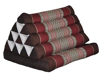 Amazon.com: Thai Triángulo Cojín con 1 plegable asiento ...