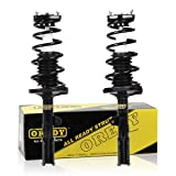 OREDY Rear Pair Complete Struts Assembly Shock Coil