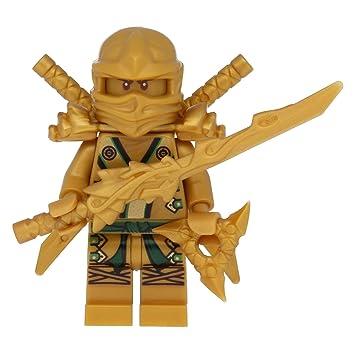 Worksheet. LEGO Ninjago Minifigur Goldener Ninja Figur Lloyd Gold mit 7