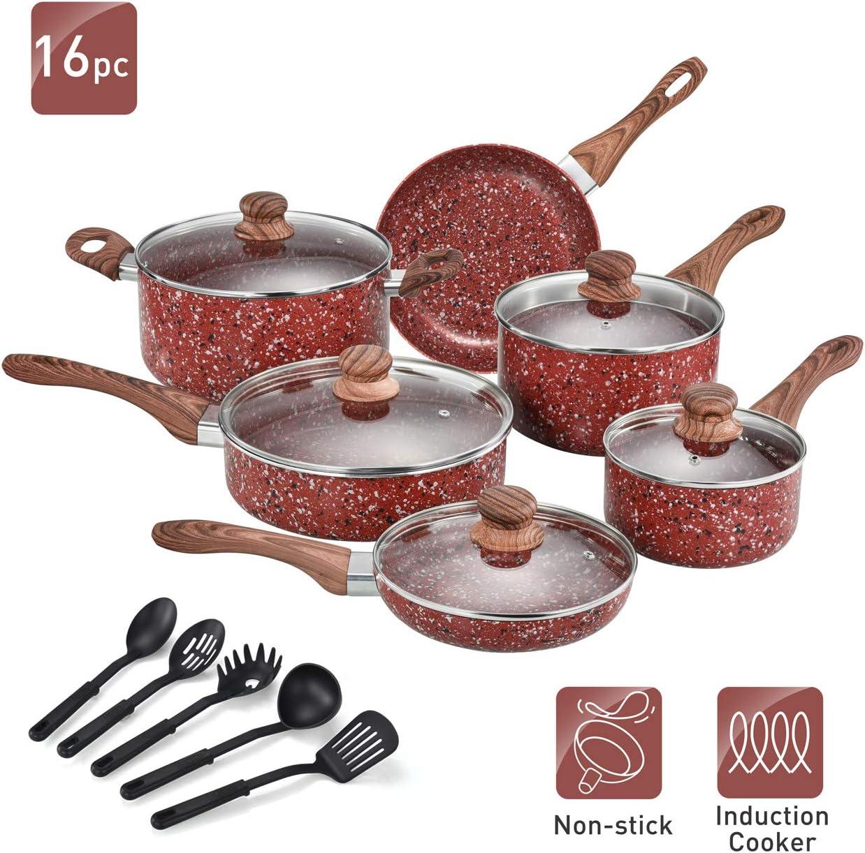 Nonstick Cookware Set Pots and Pans Set
