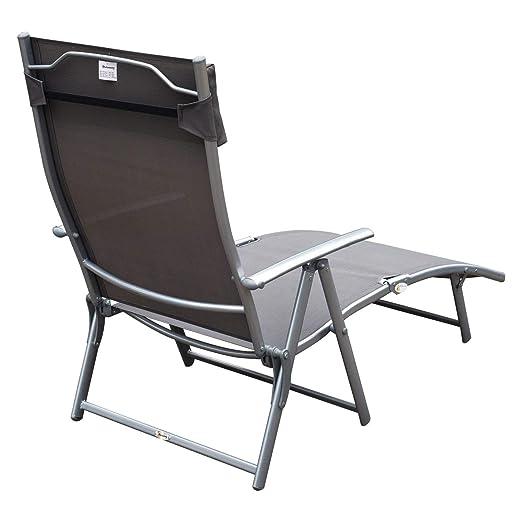 Amazon.com: Festnight - Sillón plegable para patio al aire ...