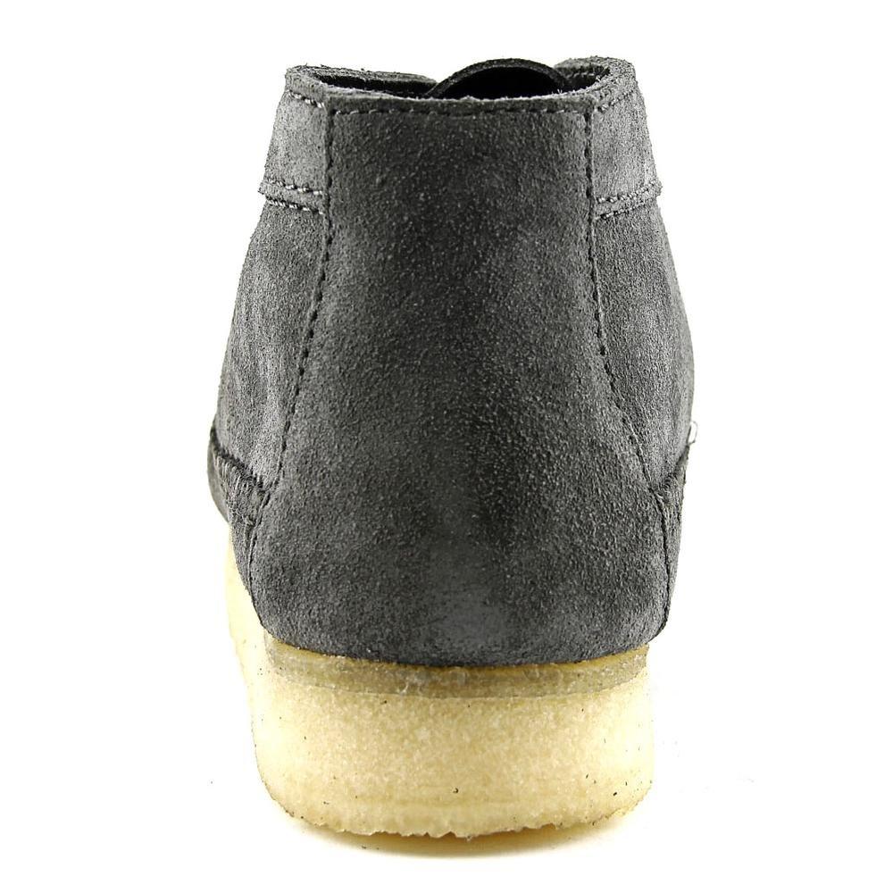 CLARKS Men's Men's CLARKS Weaver Boot Charcoal Suede 030595