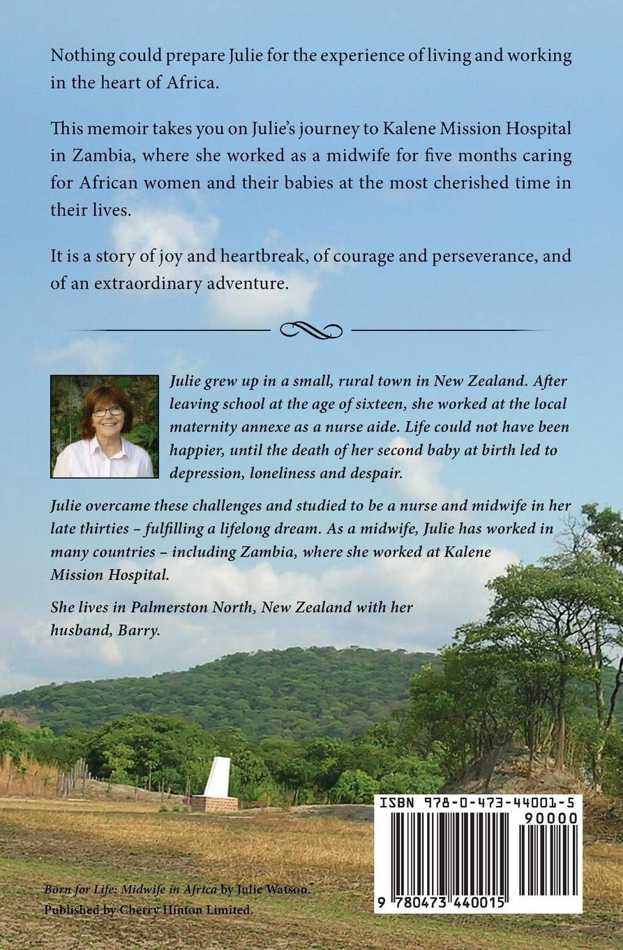 Born For Life Midwife In Africa Julie Watson 9780473440015