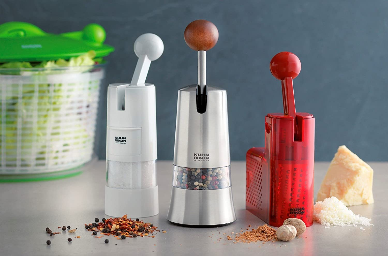 Kuhn Rikon调料研磨器,轻松研磨花椒、黑胡椒
