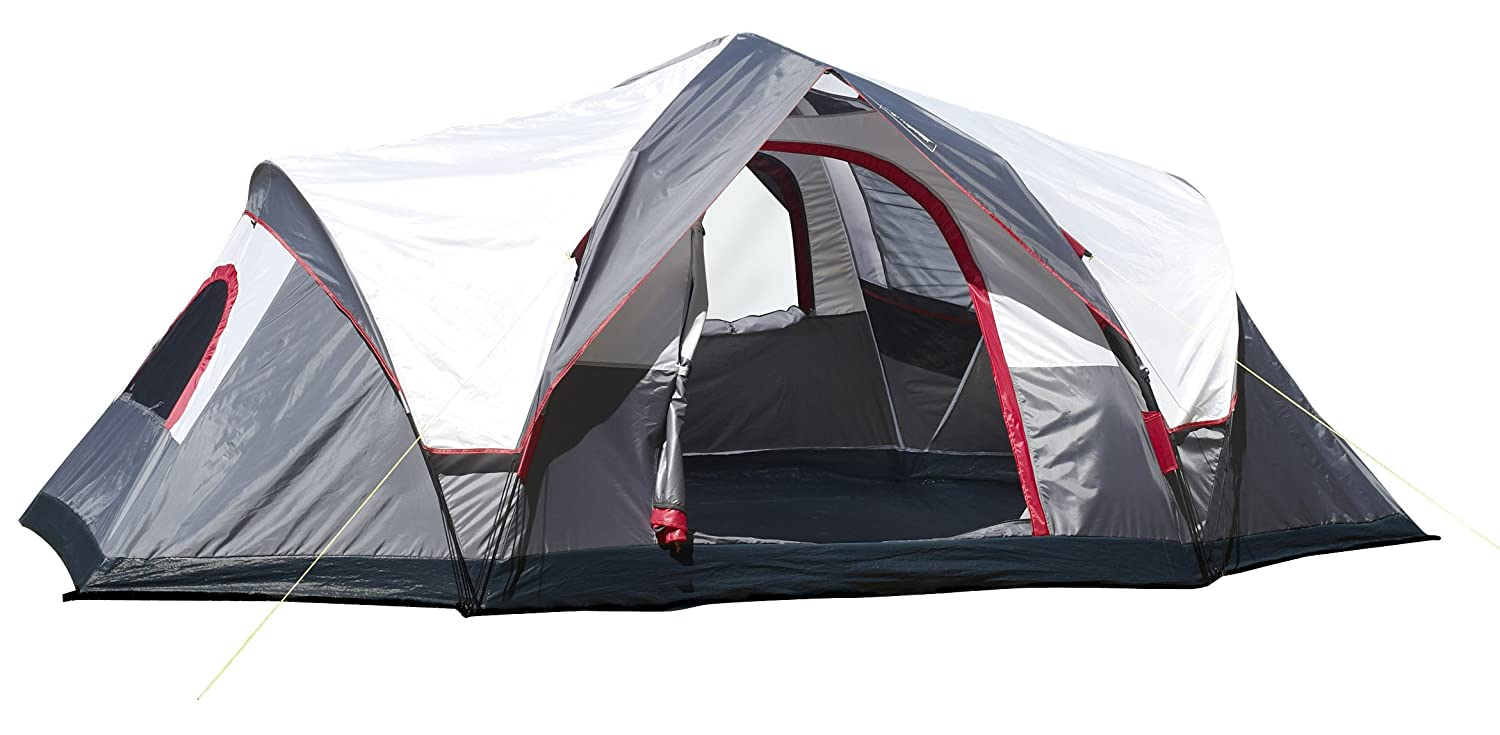 Amazon.com : Lightspeed Outdoors Ample 6-Person Instant Tent, Gray : Family  Tents : Sports & Outdoors