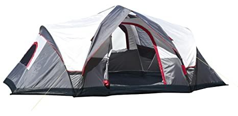 Amazon.com  Lightspeed Outdoors Ample 6-Person Instant Tent Gray  Family Tents  Sports u0026 Outdoors  sc 1 st  Amazon.com & Amazon.com : Lightspeed Outdoors Ample 6-Person Instant Tent Gray ...